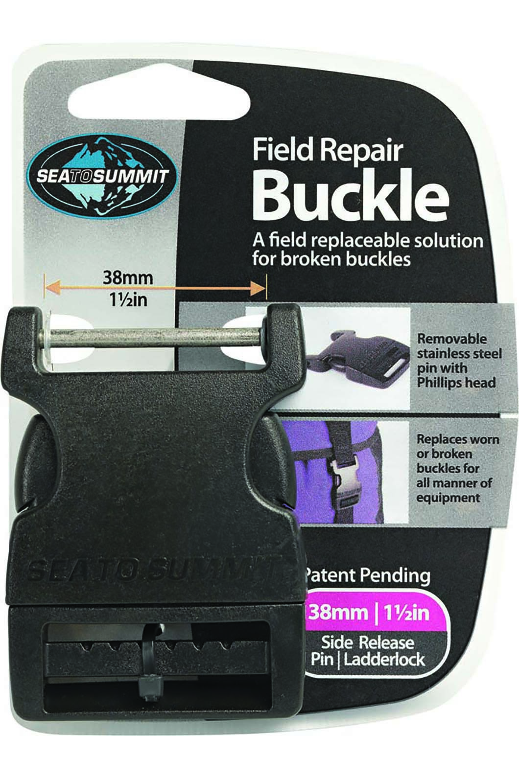 Sea to Summit Field Repair Buckle 38mm Side Release 1 Pin, None, hi-res