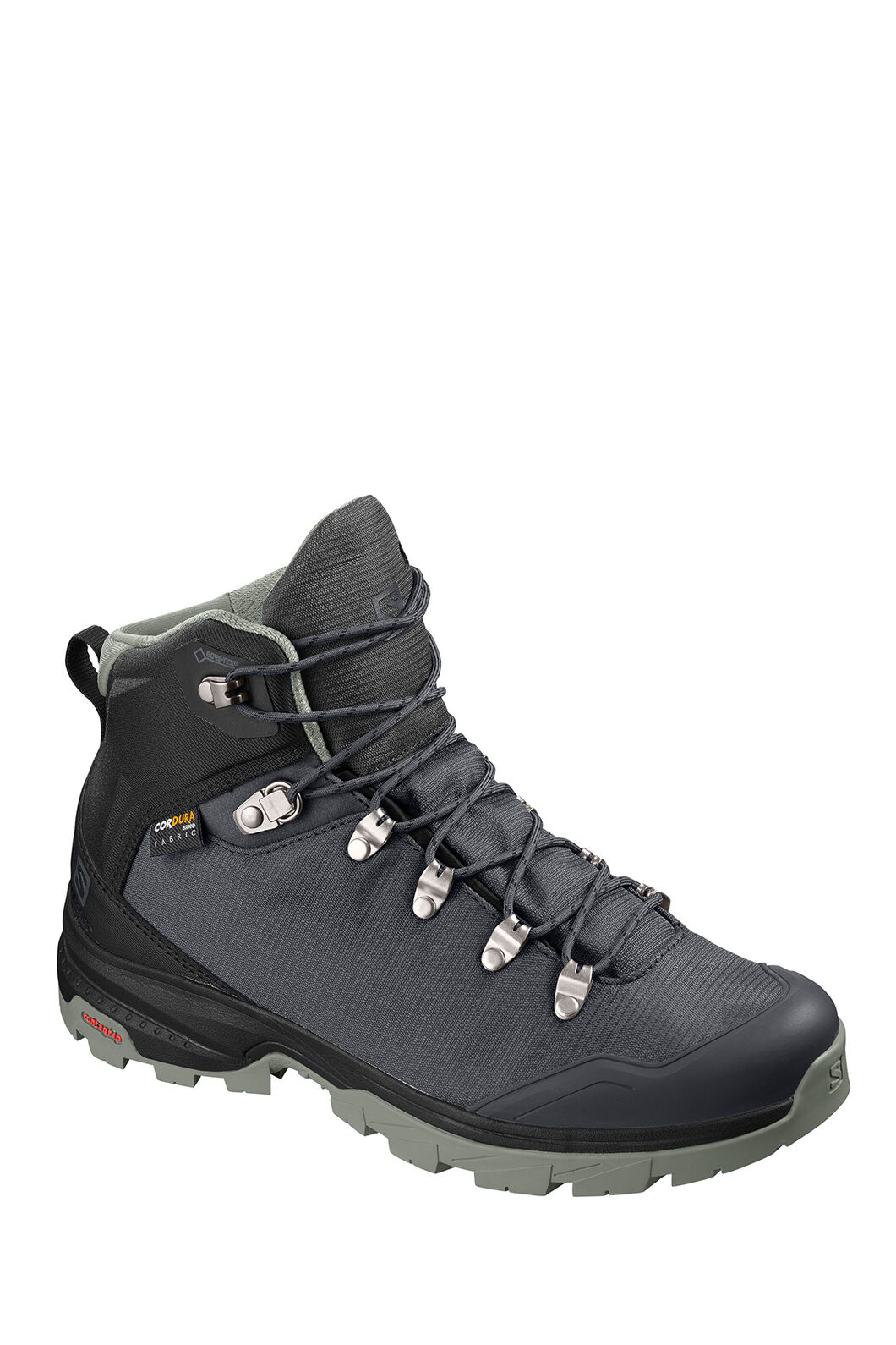 Salomon Outback 500 GTX WP Hiking Boots — Women's, Ebony/Black/Shadow, hi-res