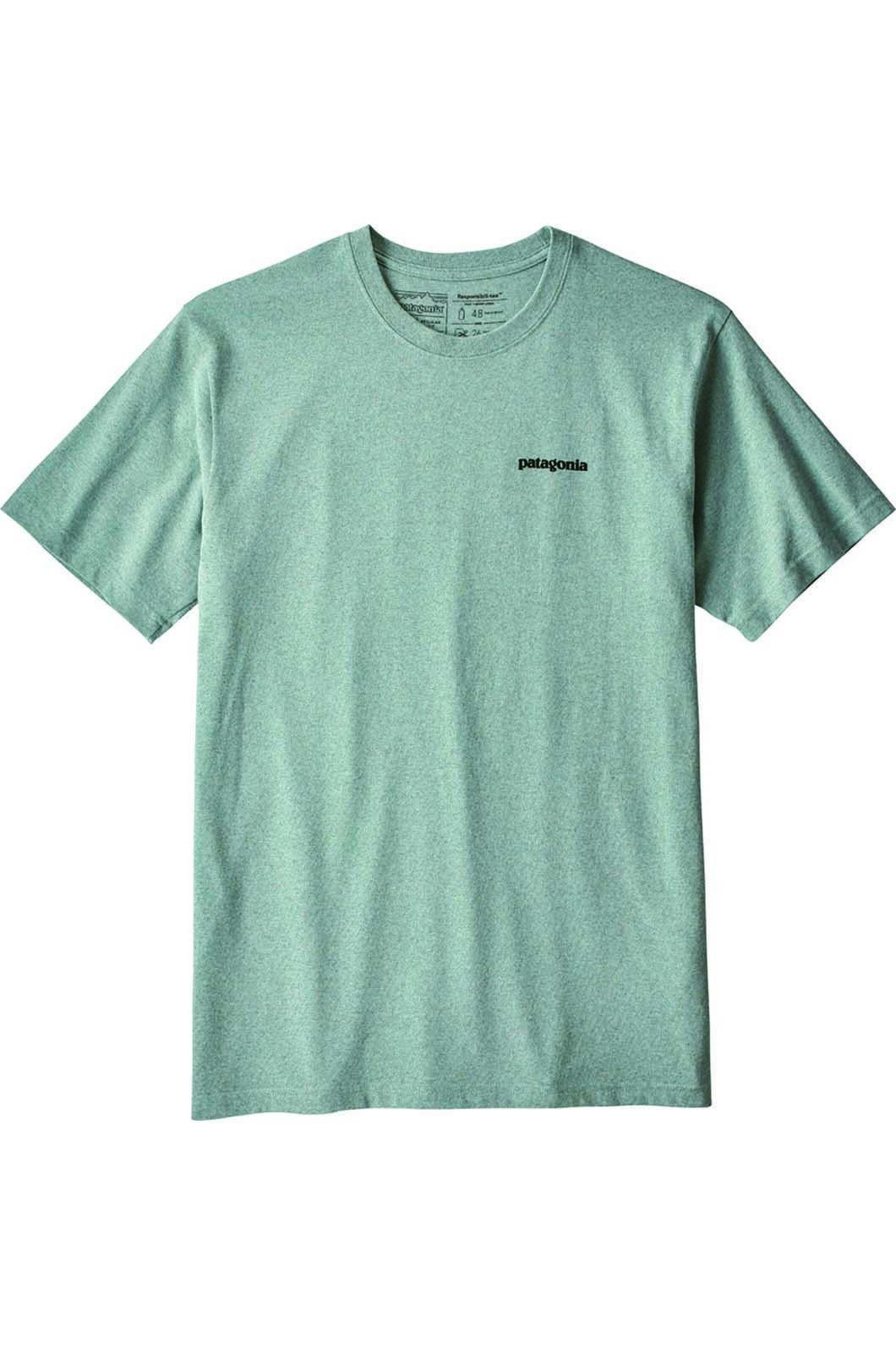 Patagonia Men's P6 Logo Responsibli Tee Cadet, CADET BLUE, hi-res