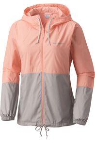 Columbia Women's Flash Forward Windbreaker Jacket NocturnalSand, SORBET/GREY, hi-res