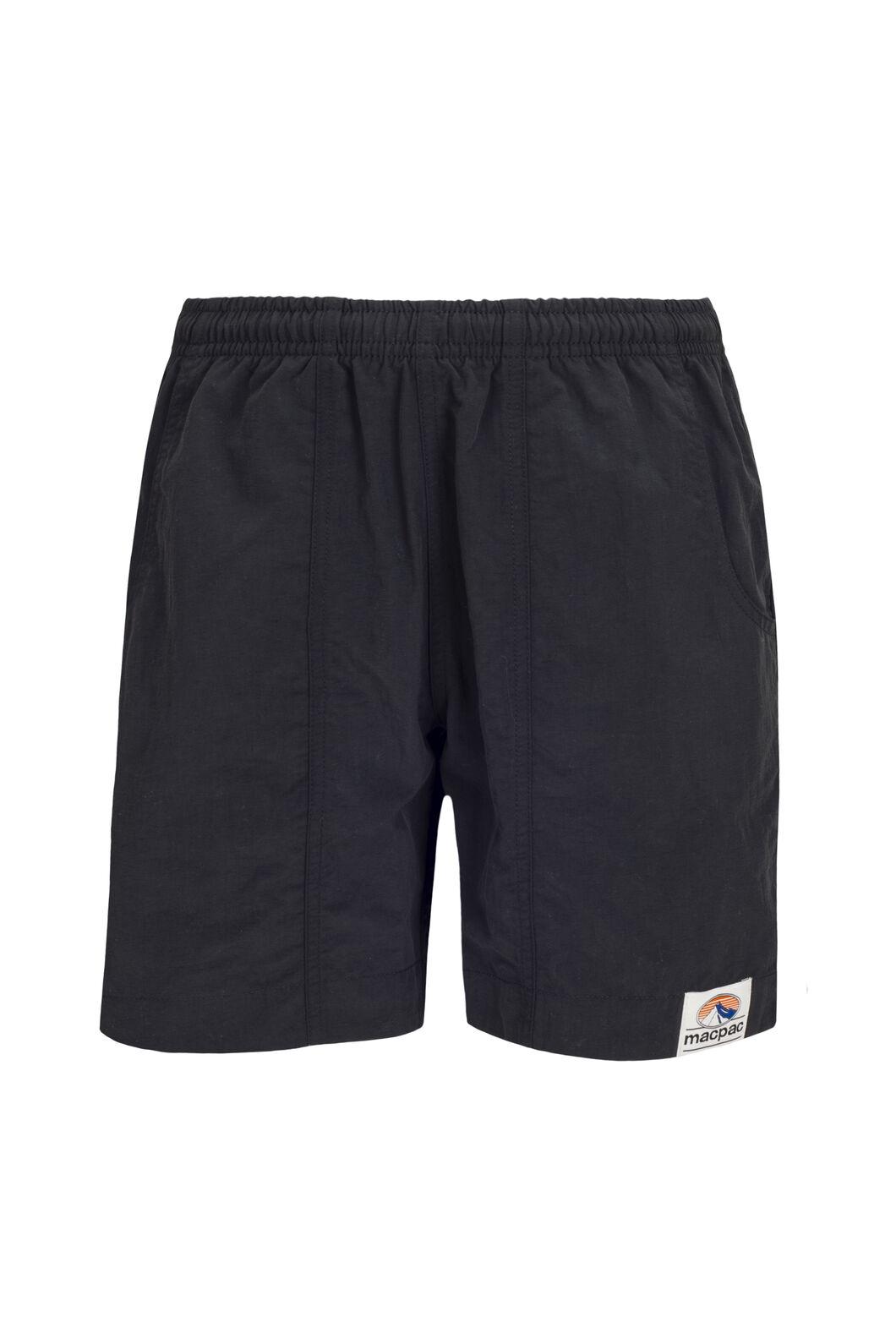 Macpac Kids' Winger Shorts, Black, hi-res