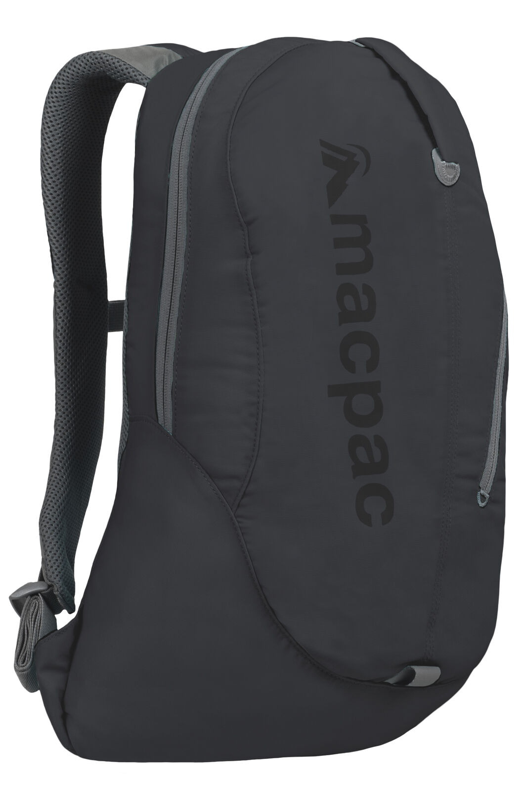 Macpac Kahuna 18L Backpack, Forged Iron/Black, hi-res
