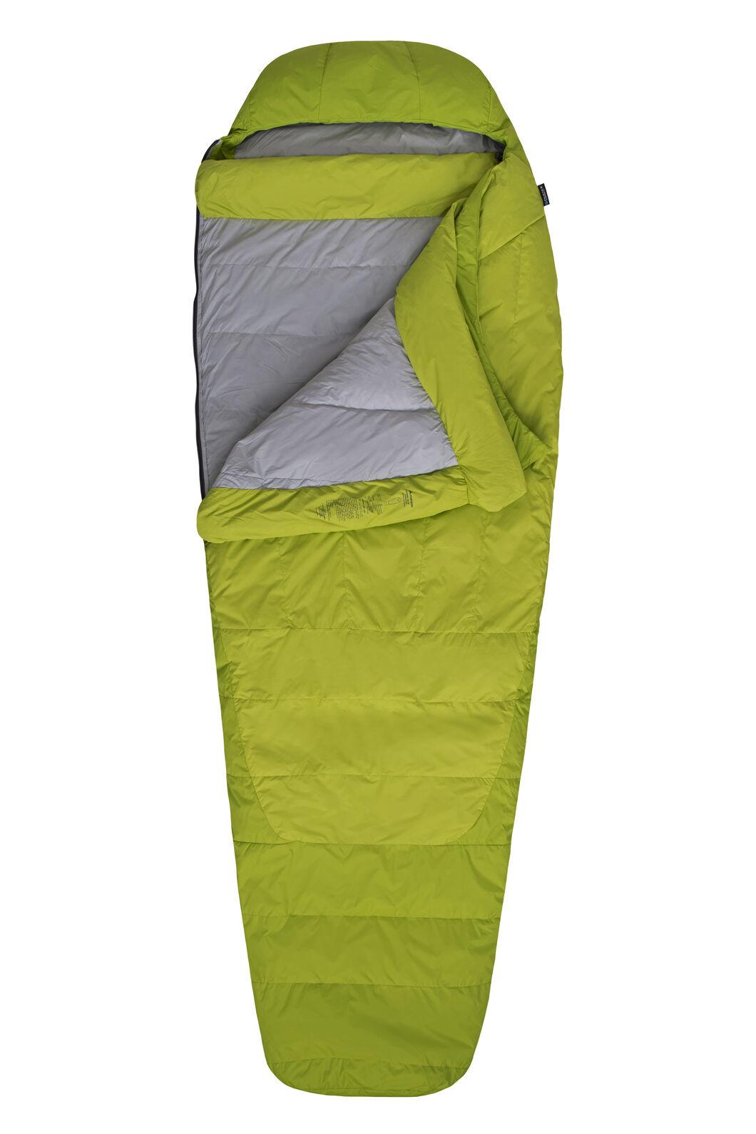 Macpac Latitude XP Goose Down 700 Sleeping Bag - Extra Large, Tender Shoots, hi-res