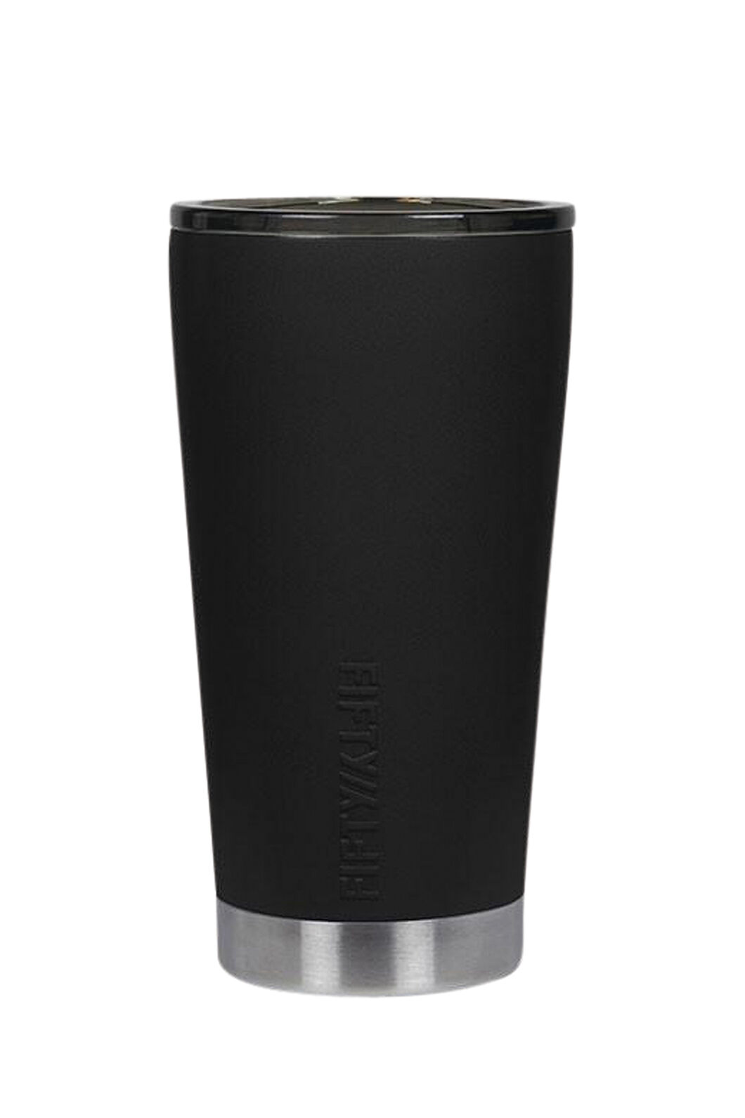 Fifty Fifty Insulated Tumbler 16oz, Matt Black, hi-res