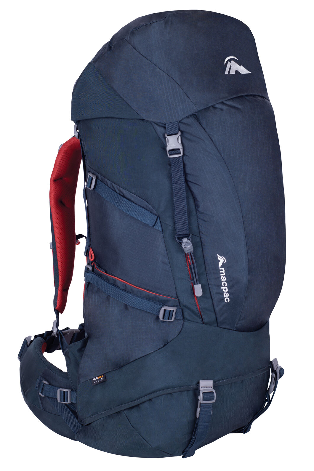 Macpac Torlesse 65L Hiking Pack, Carbon, hi-res