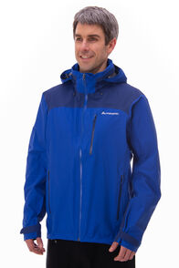 Macpac Traverse Pertex® Rain Jacket — Men's, Surf The Web, hi-res