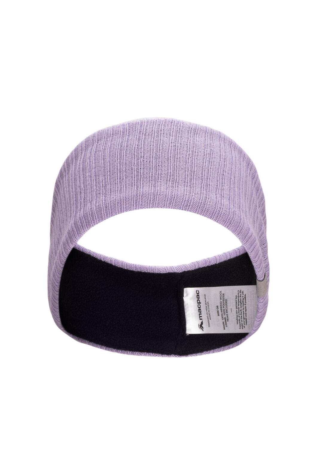 Macpac Merino Headband, Wisteria, hi-res