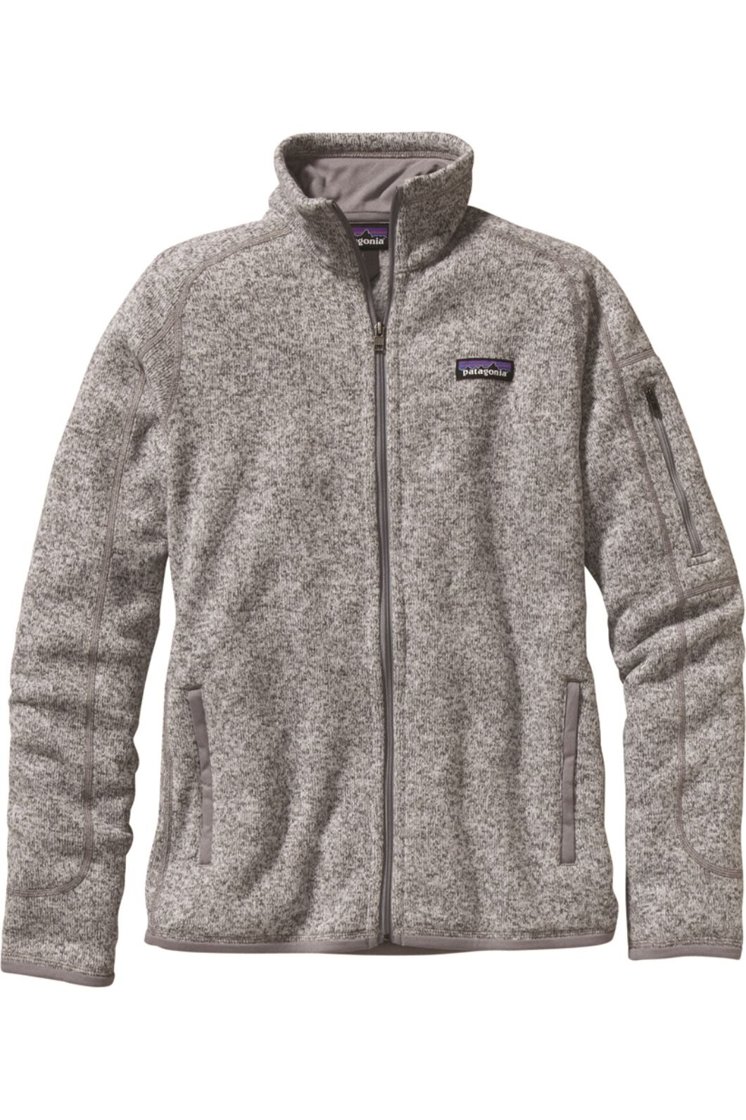Patagonia Women's Better Sweater Jacket Birch, BIRCH WHITE, hi-res