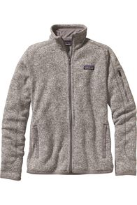 Patagonia W's Better Sweater Jkt, BIRCH WHITE, hi-res