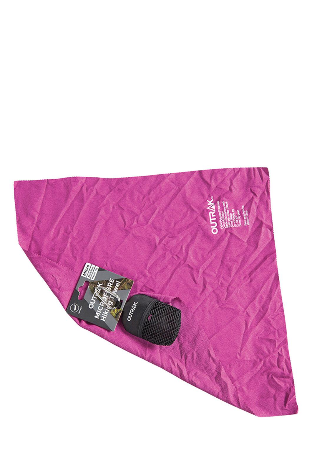 Outrak Hiking Micro Towel, Purple, hi-res