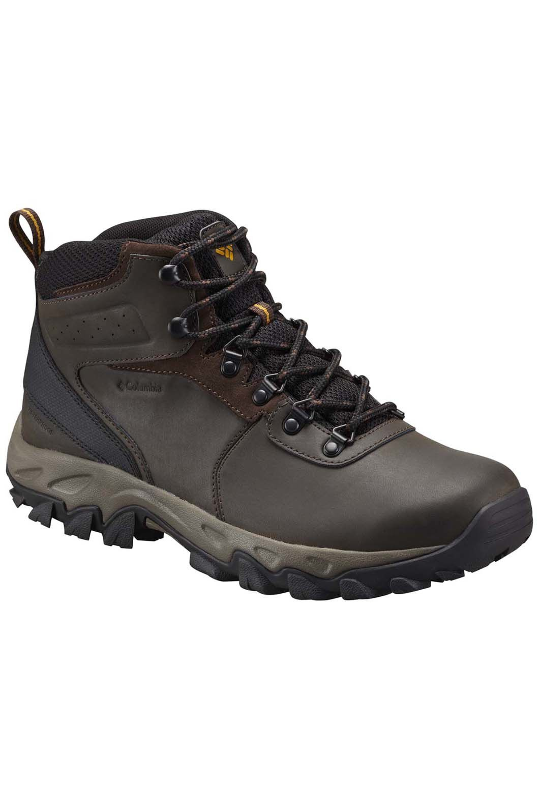 Columbia Men's Newton Ridge Plus II Hiking Boot, Brown, hi-res