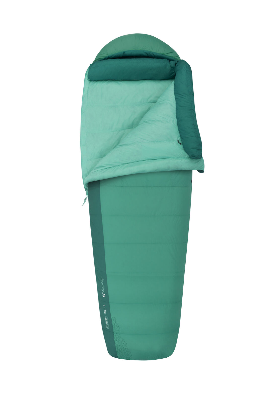 Sea to Summit Journey 1 - Women's Long, Green, hi-res