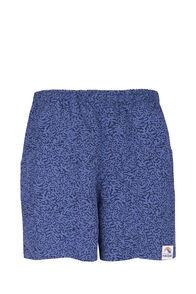 Macpac Winger Shorts — Men's, Mood Indigo Print, hi-res