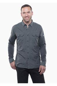 Kuhl Airspeed™ Long Sleeve Shirt — Men's, Carbon, hi-res