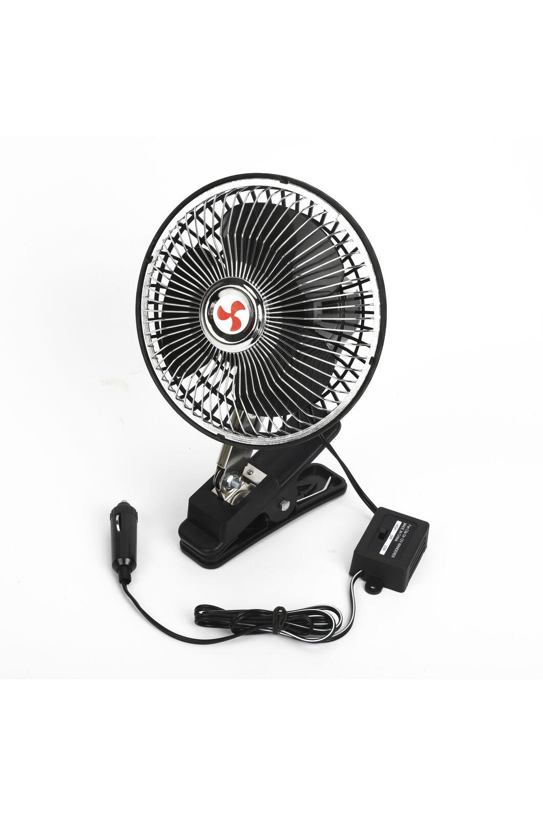 Wanderer 12v Clip-On Fan, None, hi-res