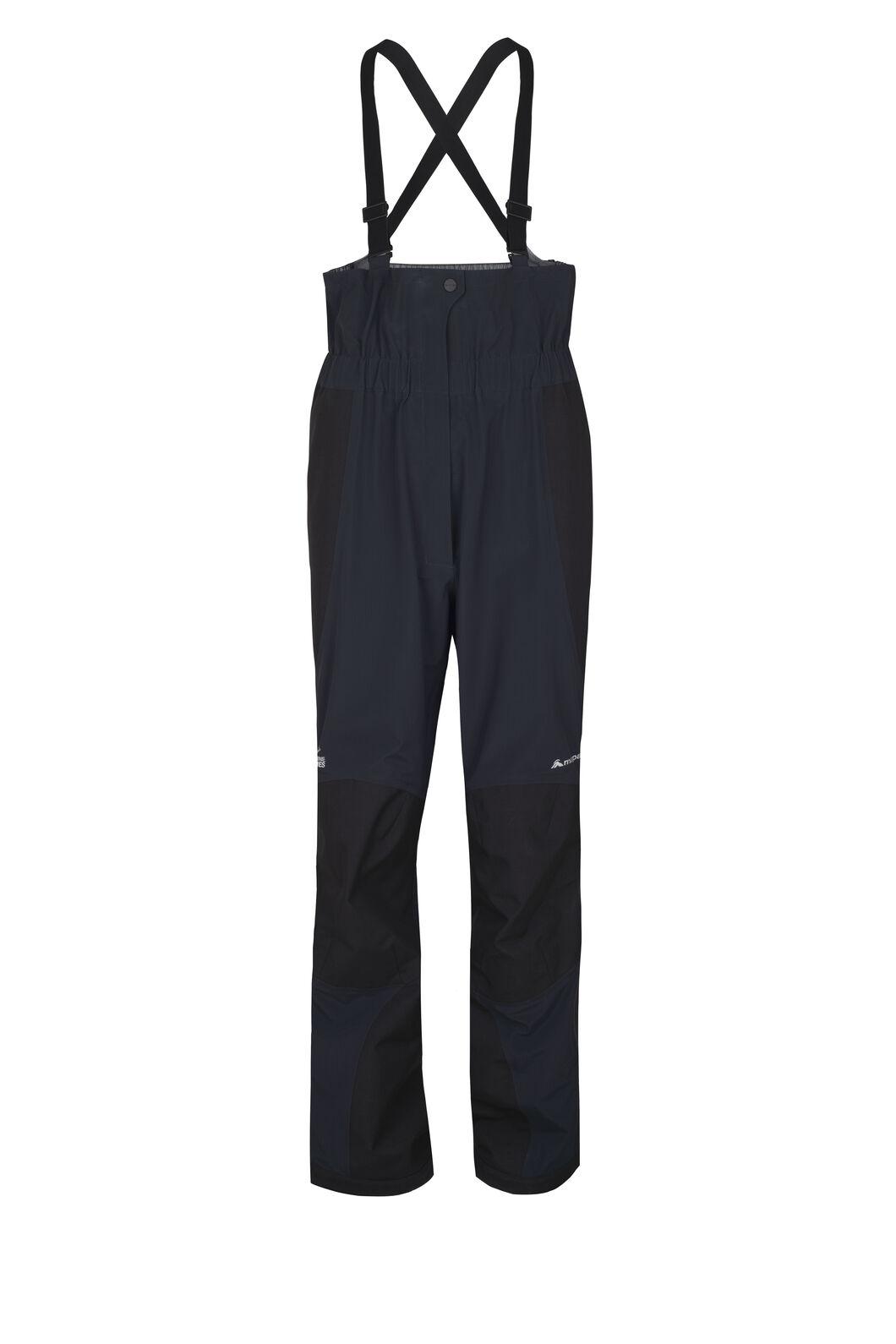 Macpac Barrier Bib Pertex® Rain Pants - Men's, Black, hi-res