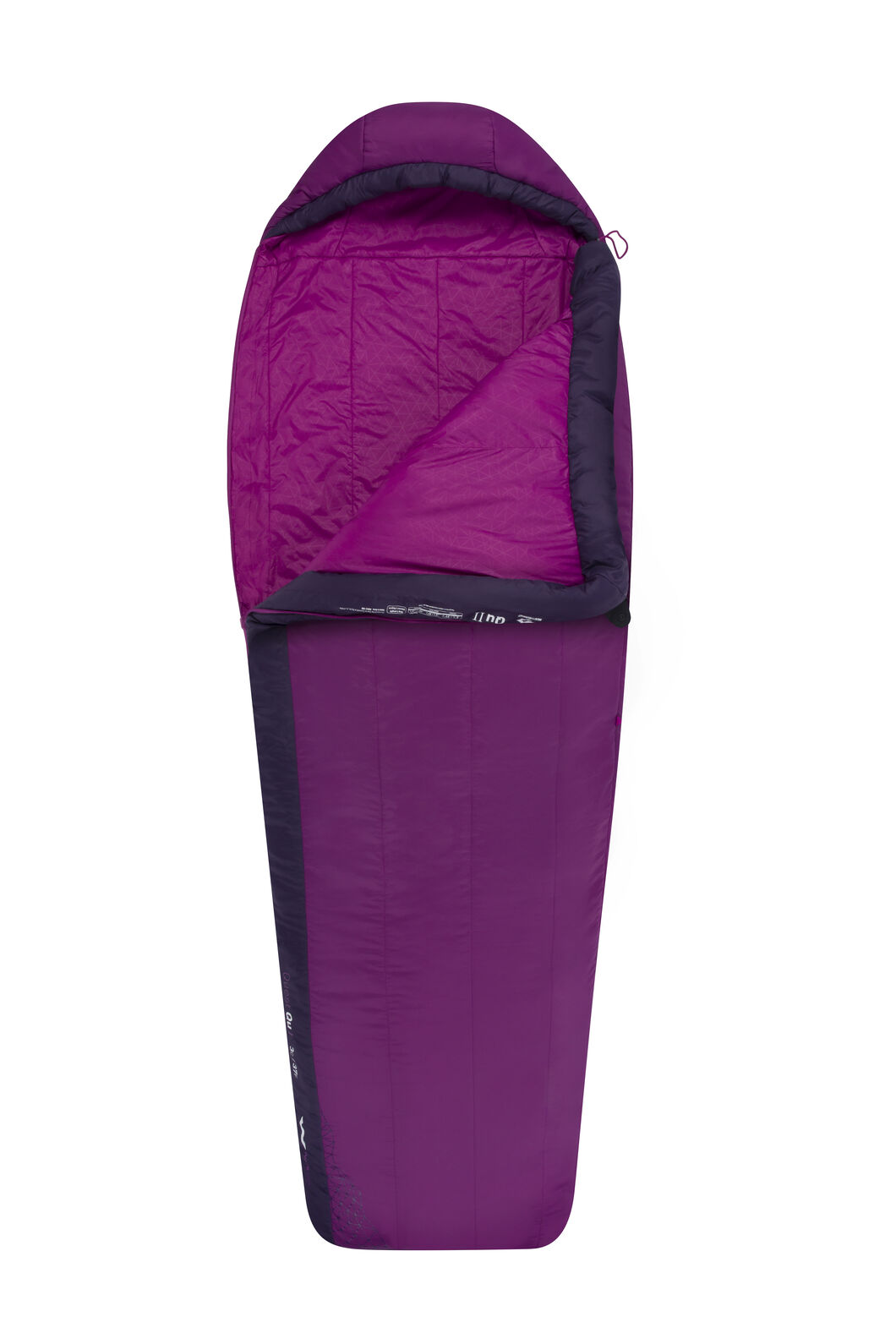 Sea to Summit Quest I Sleeping Bag - Women's Regular, Purple, hi-res
