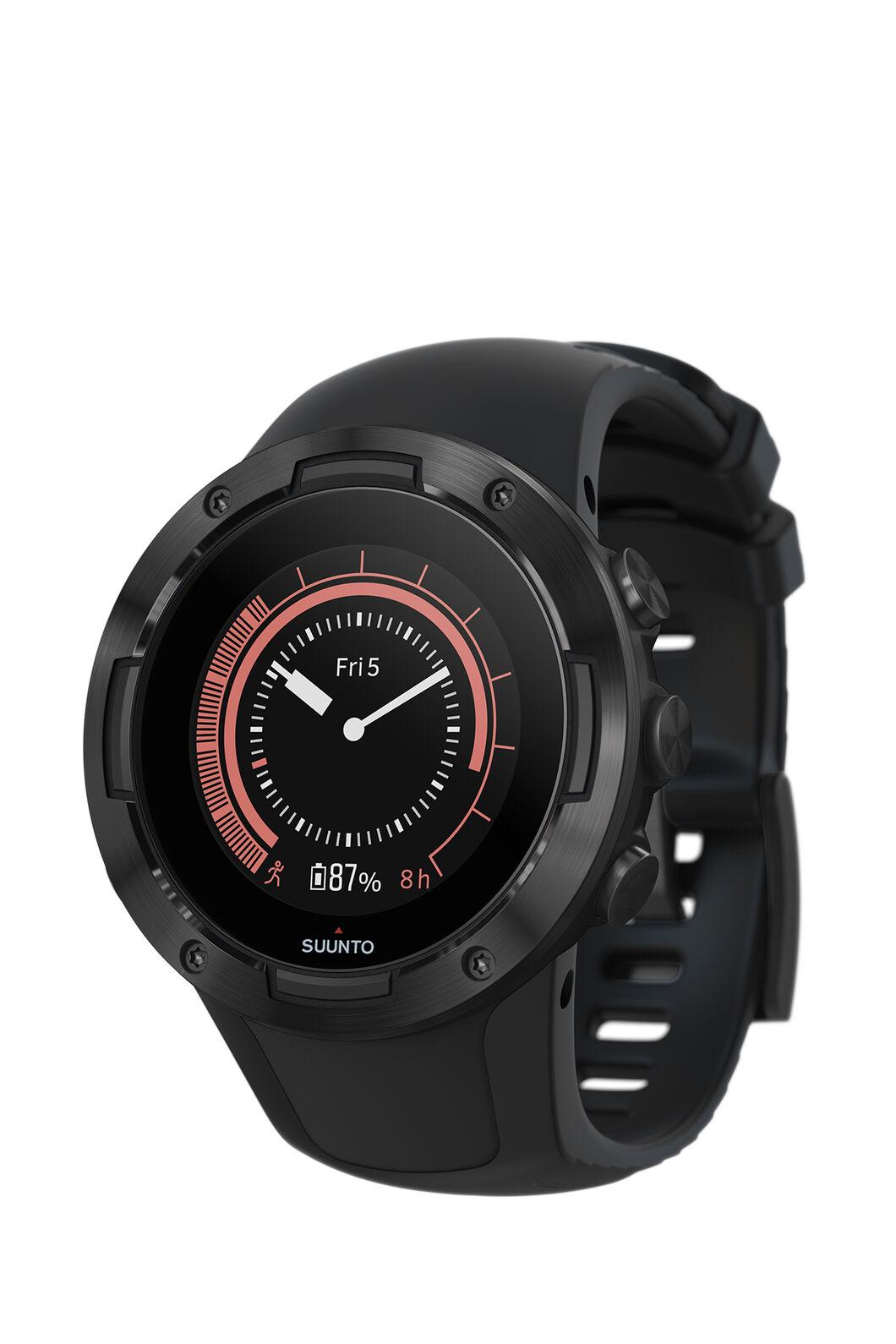 Suunto 5 GPS Sports Watch, All Black, hi-res