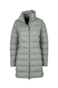 Macpac Demi Down Coat — Women's, Grey Morn Melange, hi-res