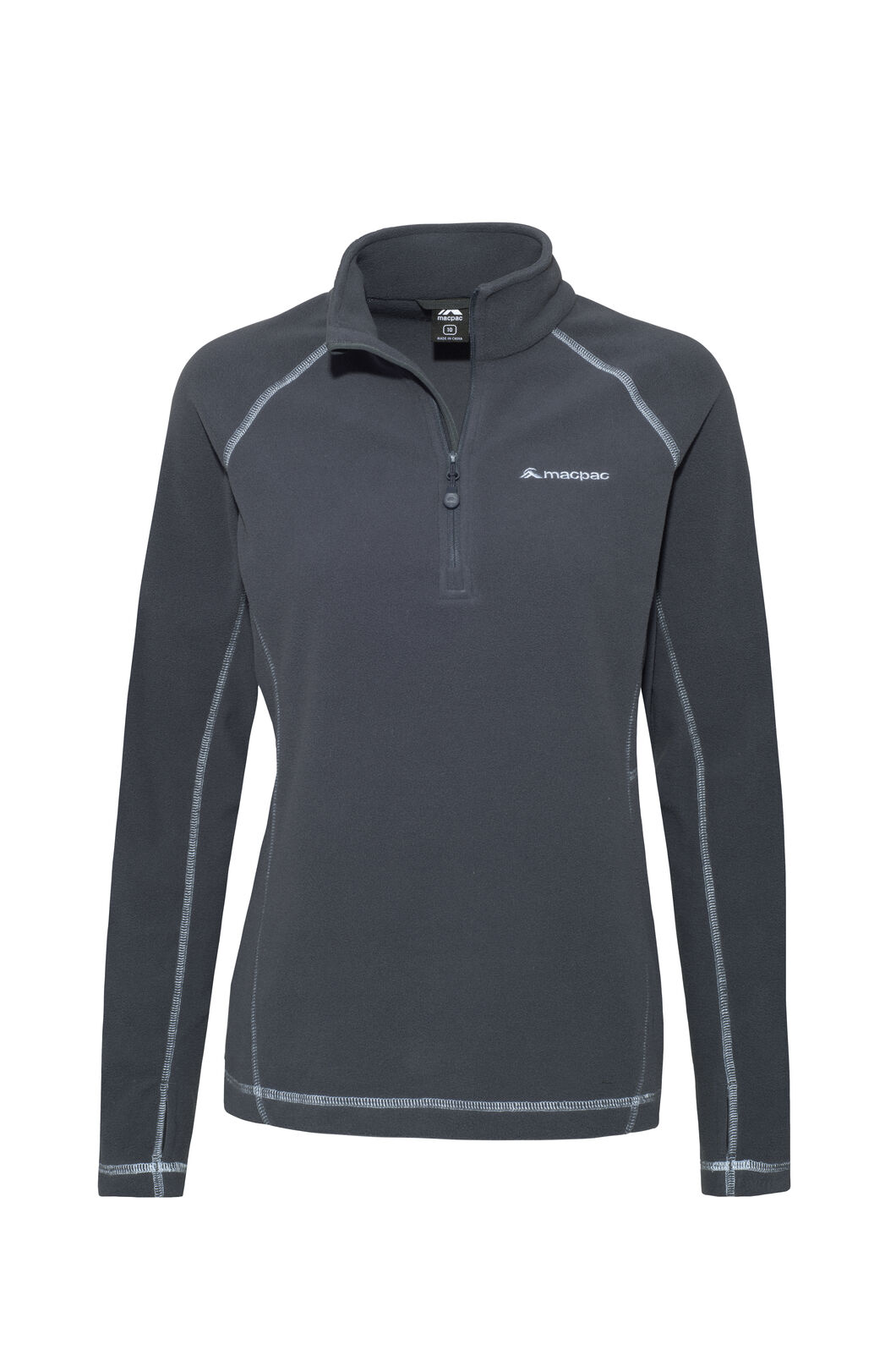 Macpac Tui Polartec® Micro Fleece® Pullover — Women's, India Ink, hi-res