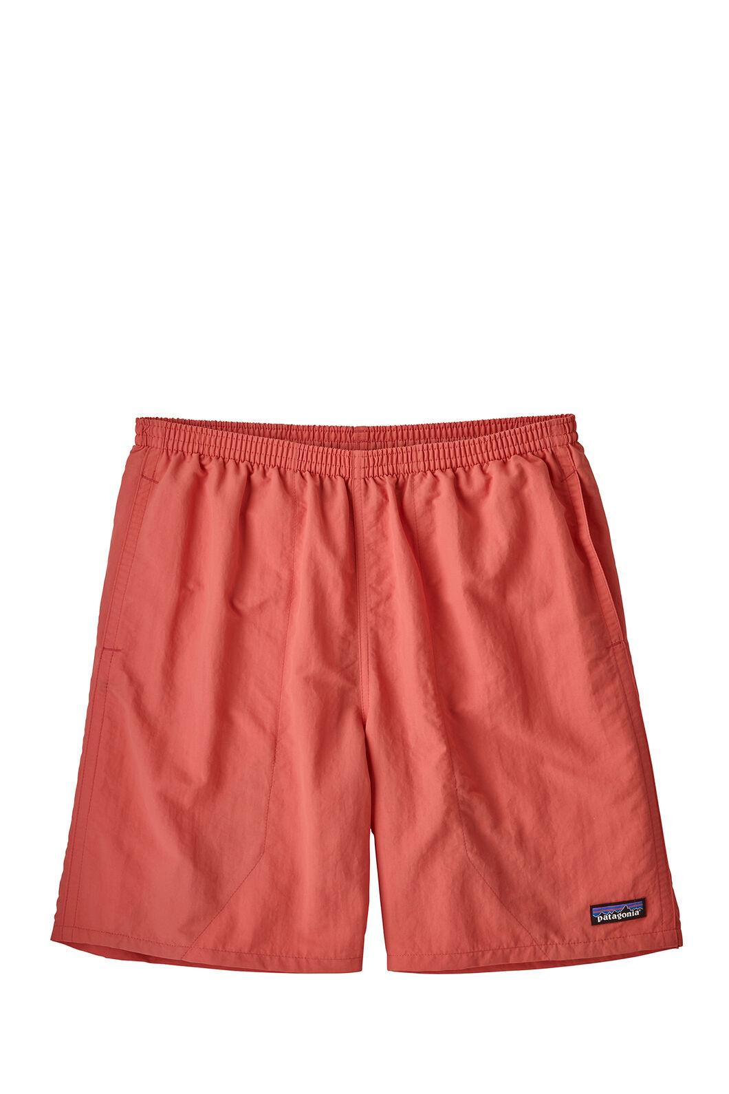 "Patagonia Baggies Longs Shorts 7"" — Men's, Spiced Coral, hi-res"