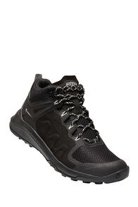 KEEN Explore WP Hiking Boots — Women's, Black/Star White, hi-res