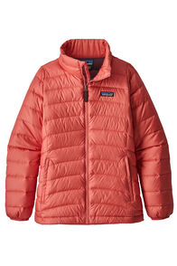 Patagonia Girls Down Sweater , Coral, hi-res