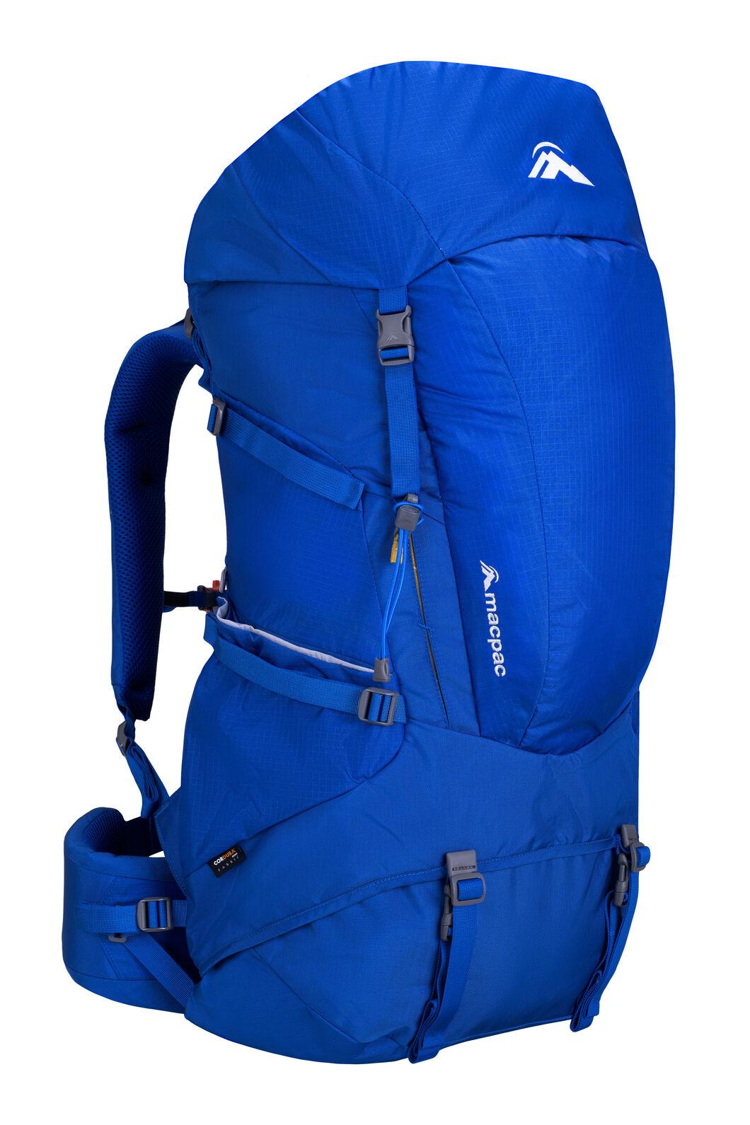 Macpac Torlesse 65L Hiking Backpack, Nautical Blue, hi-res