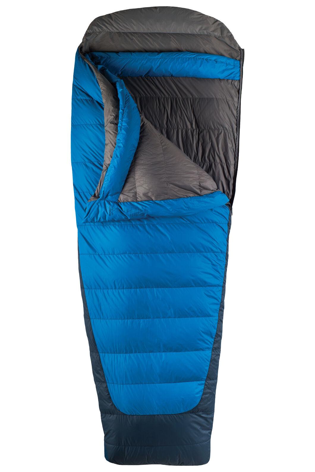 Macpac Escapade Down 700 Sleeping Bag - Standard, Classic Blue, hi-res