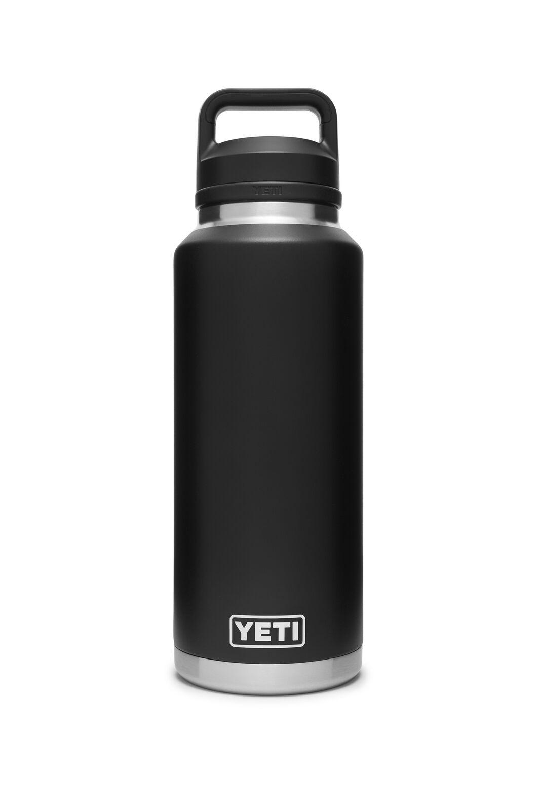 YETI® Rambler Bottle With Chug Cap — 46oz, Black, hi-res