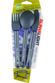 Sea to Summit 3 Piece Alpha Light Cutlery Set, None, hi-res