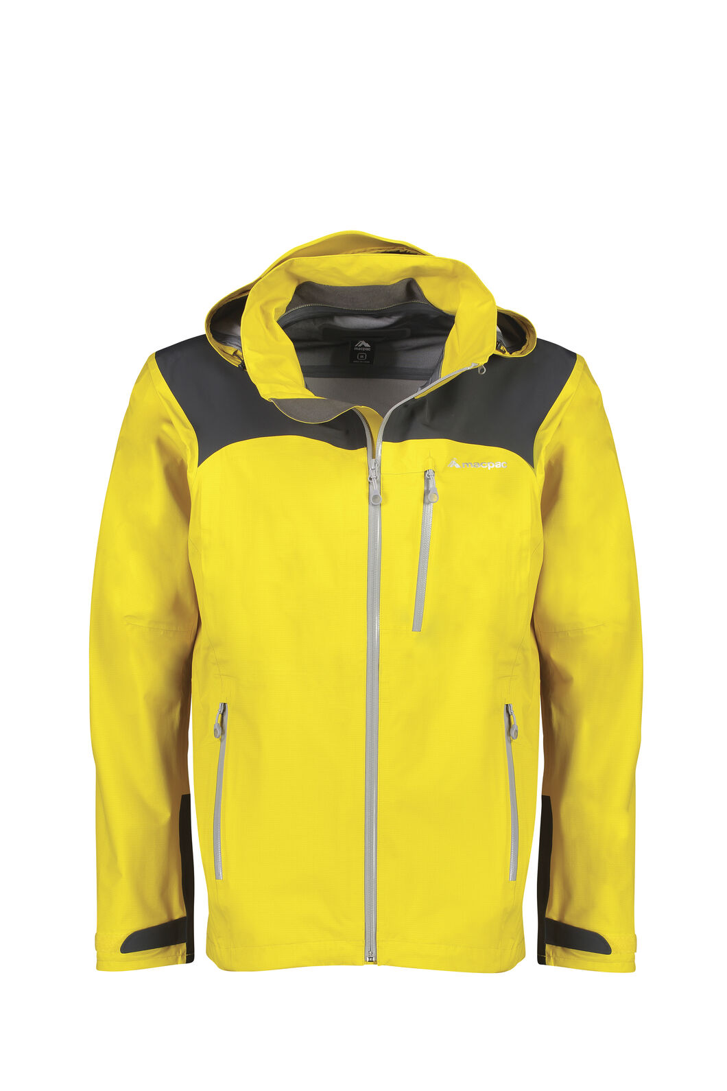 Macpac Traverse Pertex® Rain Jacket - Men's, Lemon Curry, hi-res