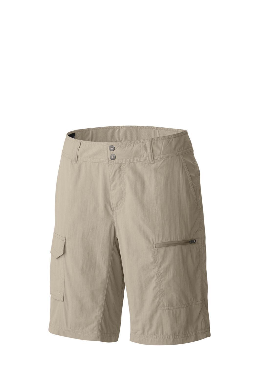 Columbia Silver Ridge™ Cargo Shorts — Women's, Fossil, hi-res