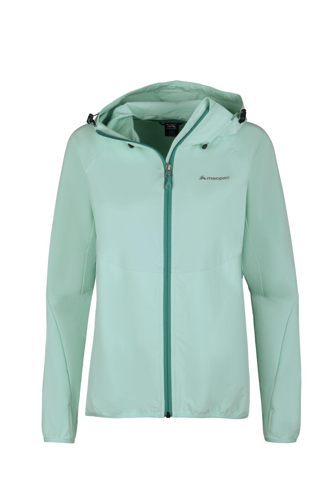 Macpac Mannering Hooded Jacket - Women's, Beach Glass, hi-res