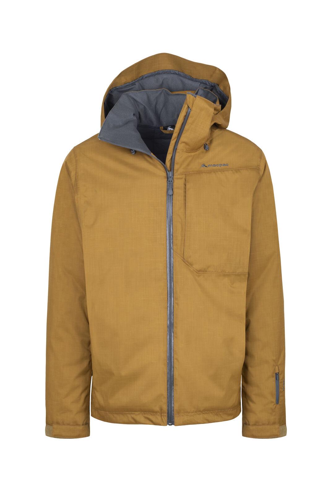Macpac Powder Reflex™ Ski Jacket — Men's, Bronze Brown, hi-res