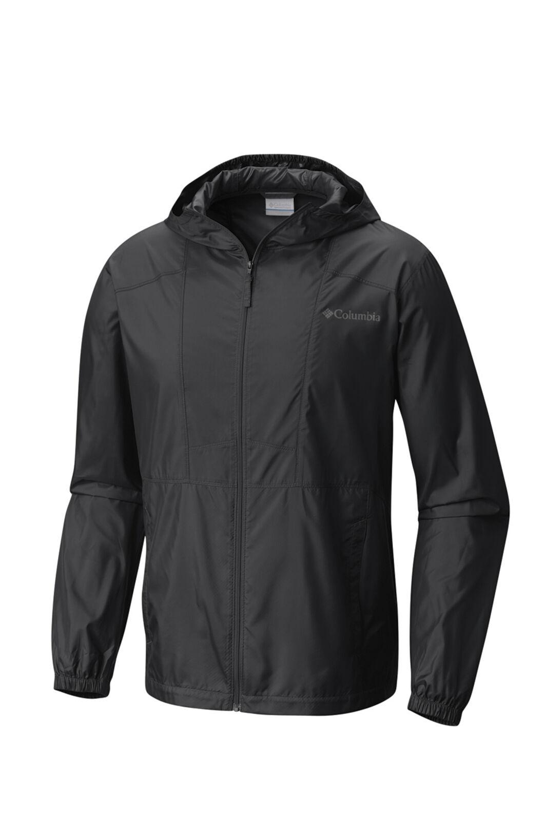 Columbia Men's Flashback Windbreaker Jacket, Black, hi-res