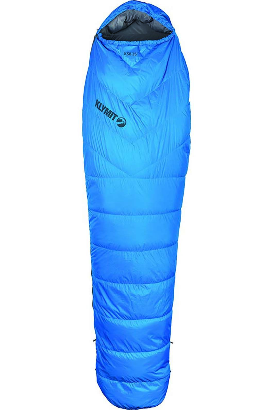 Klymit KSB 35 Degree F Down Sleeping Bag 2, None, hi-res