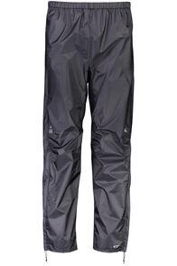 Macpac Hightail Pertex® Rain Pants — Men's, Black, hi-res
