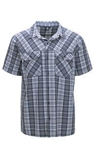 Macpac Eclipse Short Sleeve Shirt — Men's, India Ink, hi-res