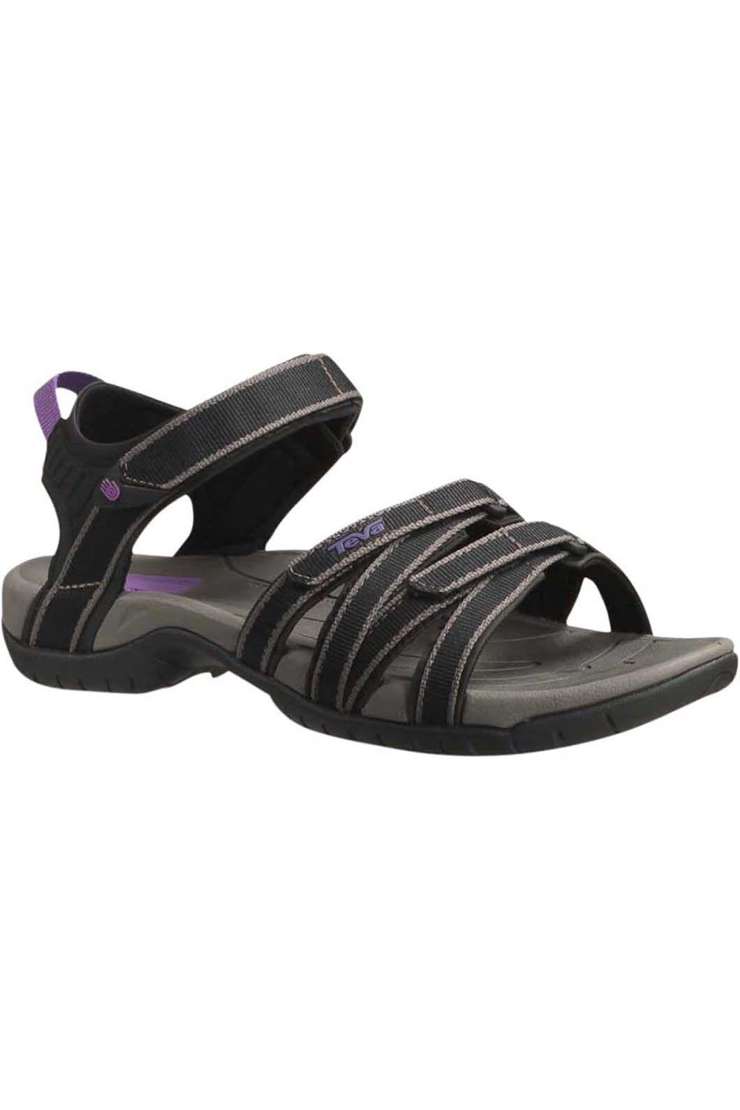 Teva Women's Tirra Sandal, Black/Grey, hi-res