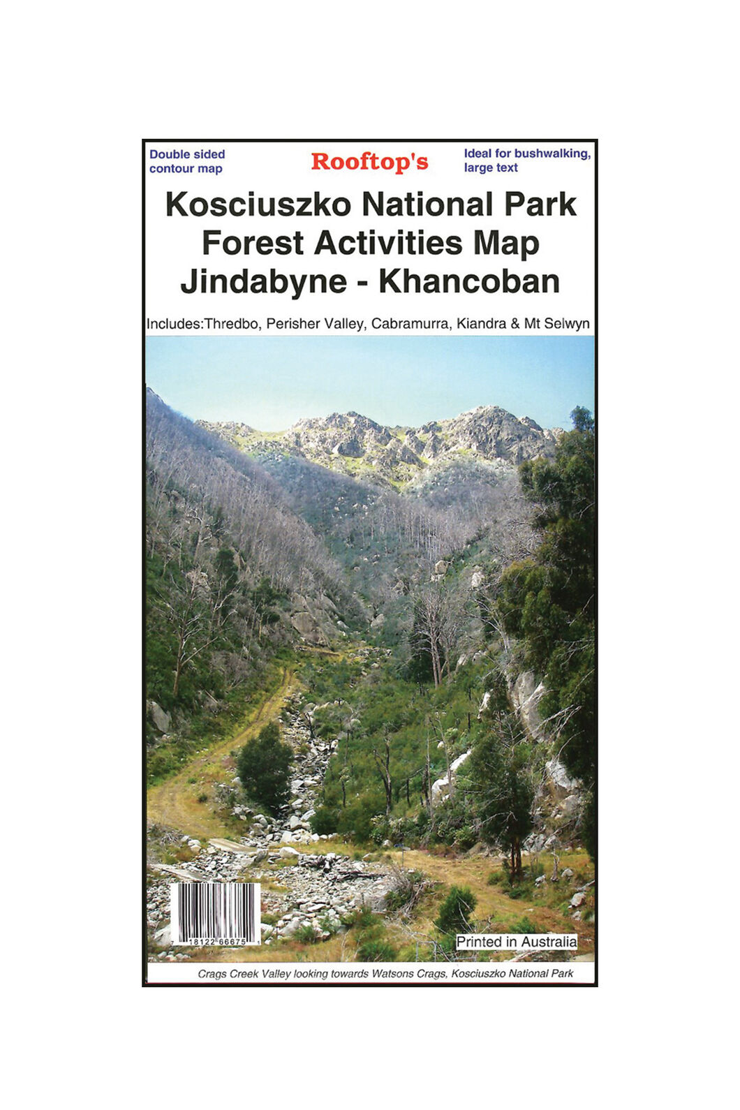 Hema Kosciuszko Forest National Park Map, None, hi-res