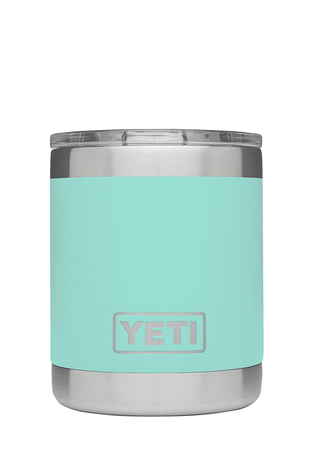 Yeti Rambler Lowball Tumbler Stainless Steel, SEAFOAM, hi-res