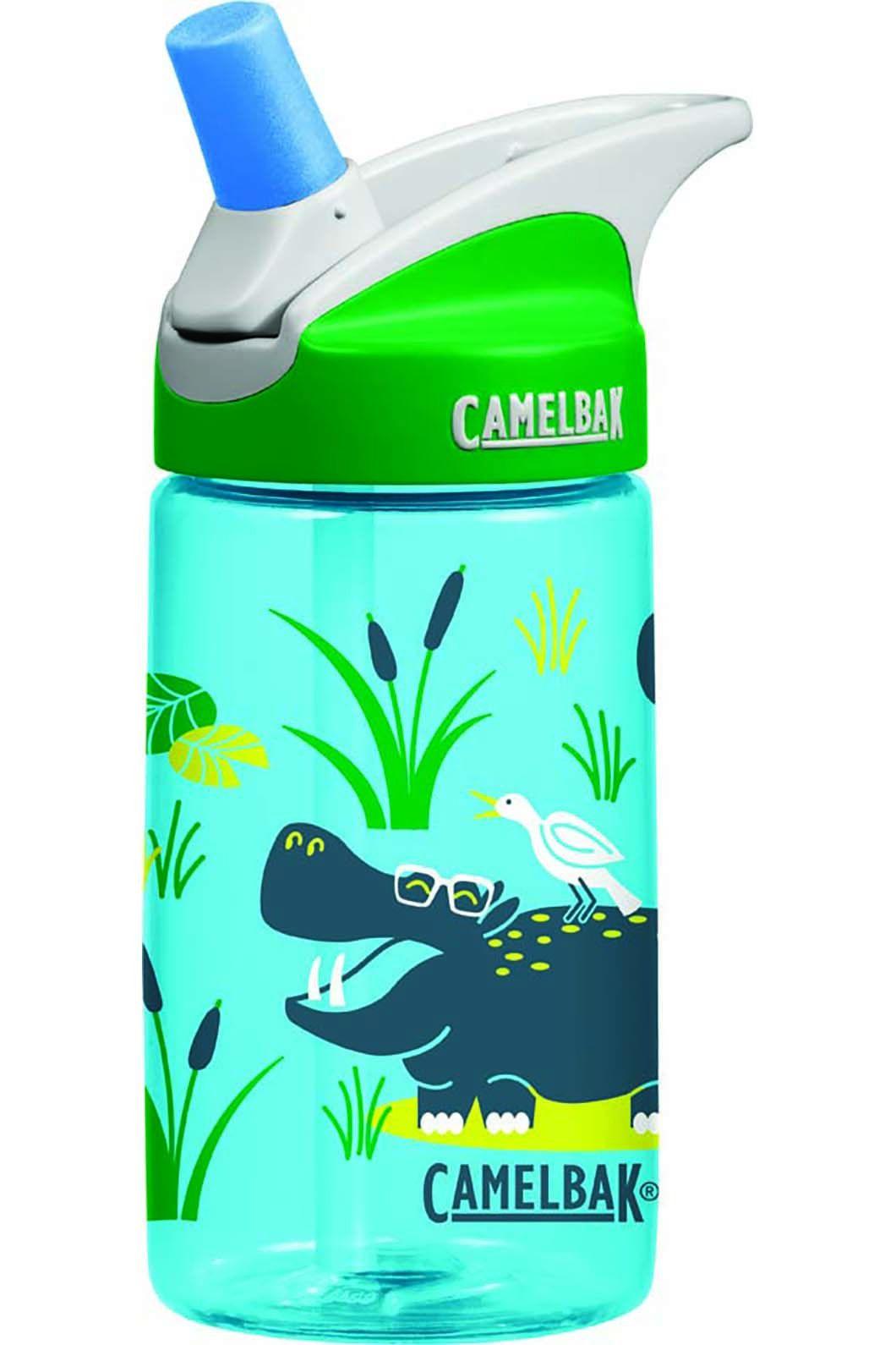 CamelBak Kids' Eddy Drink Bottle Hippos, None, hi-res