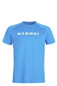Mammut Splide Logo T-Shirt — Men's, Gentian, hi-res