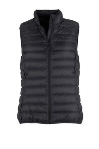 Uber Light Down Vest - Women's, Black, hi-res