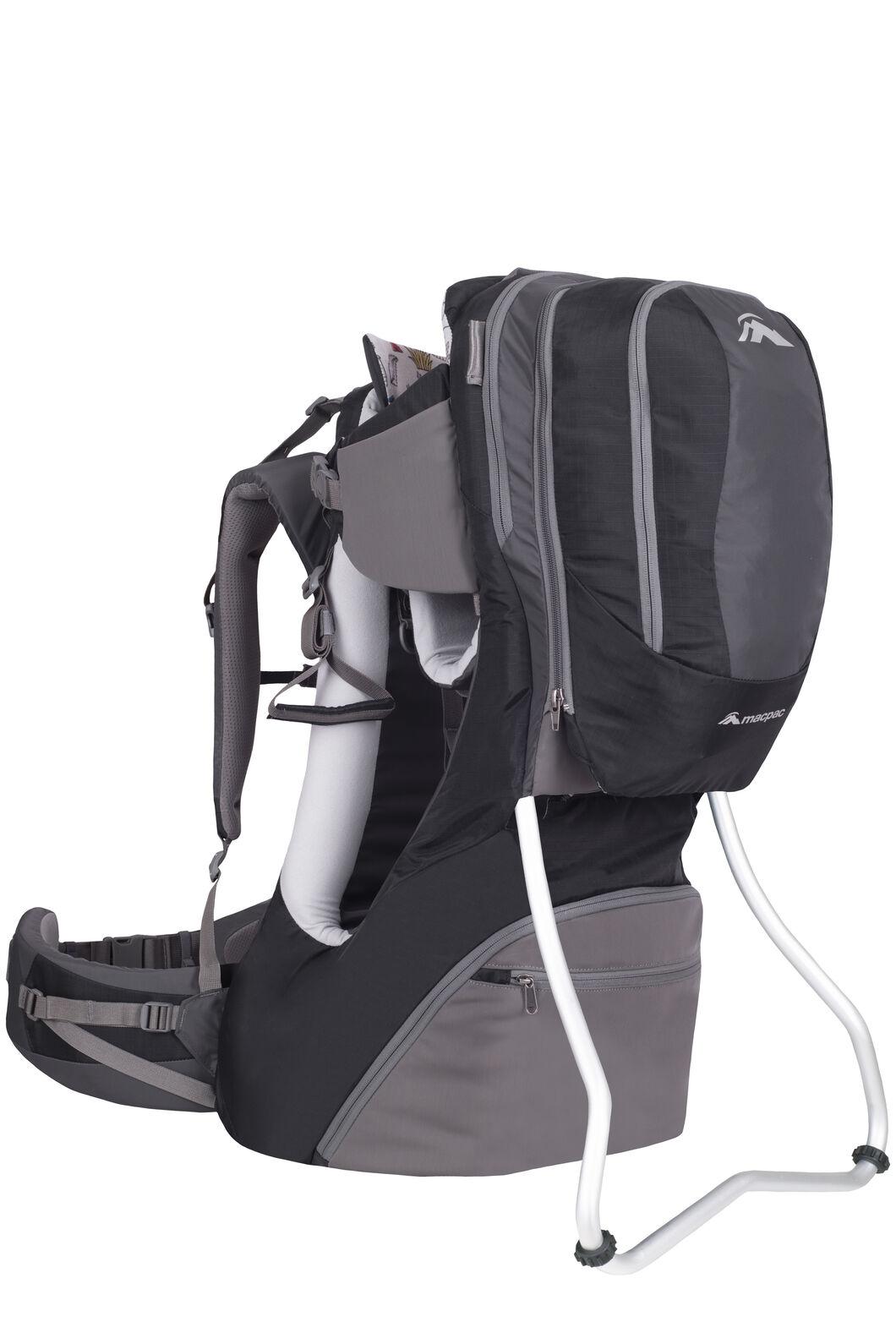 Macpac Vamoose Child Carrier V2, Black/Forged Iron, hi-res