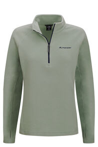 Macpac Tui Polartec® Micro Fleece® Pullover — Women's, Green Bay, hi-res