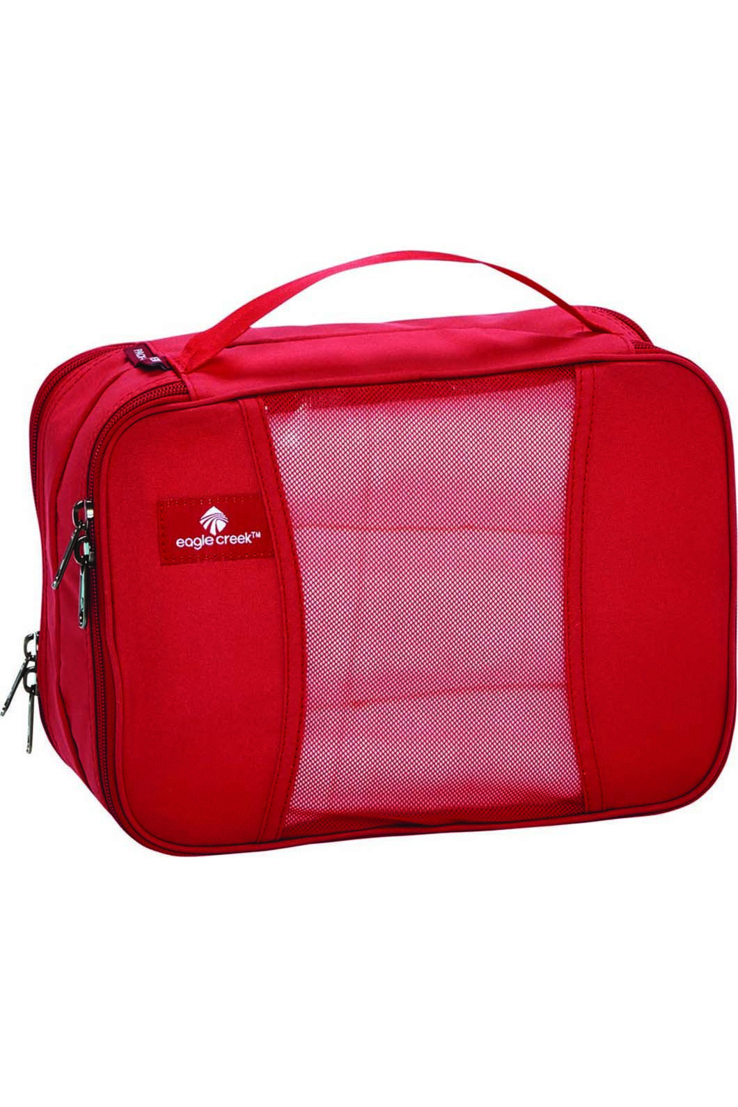 Eagle Creek Pack-It Clean Dirty Half Cube, RED FIRE, hi-res