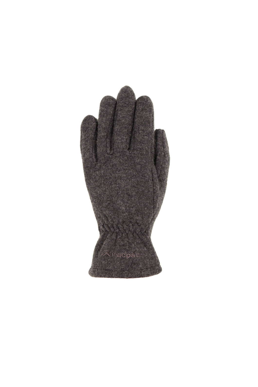 Tech Wool Gloves, Charcoal, hi-res