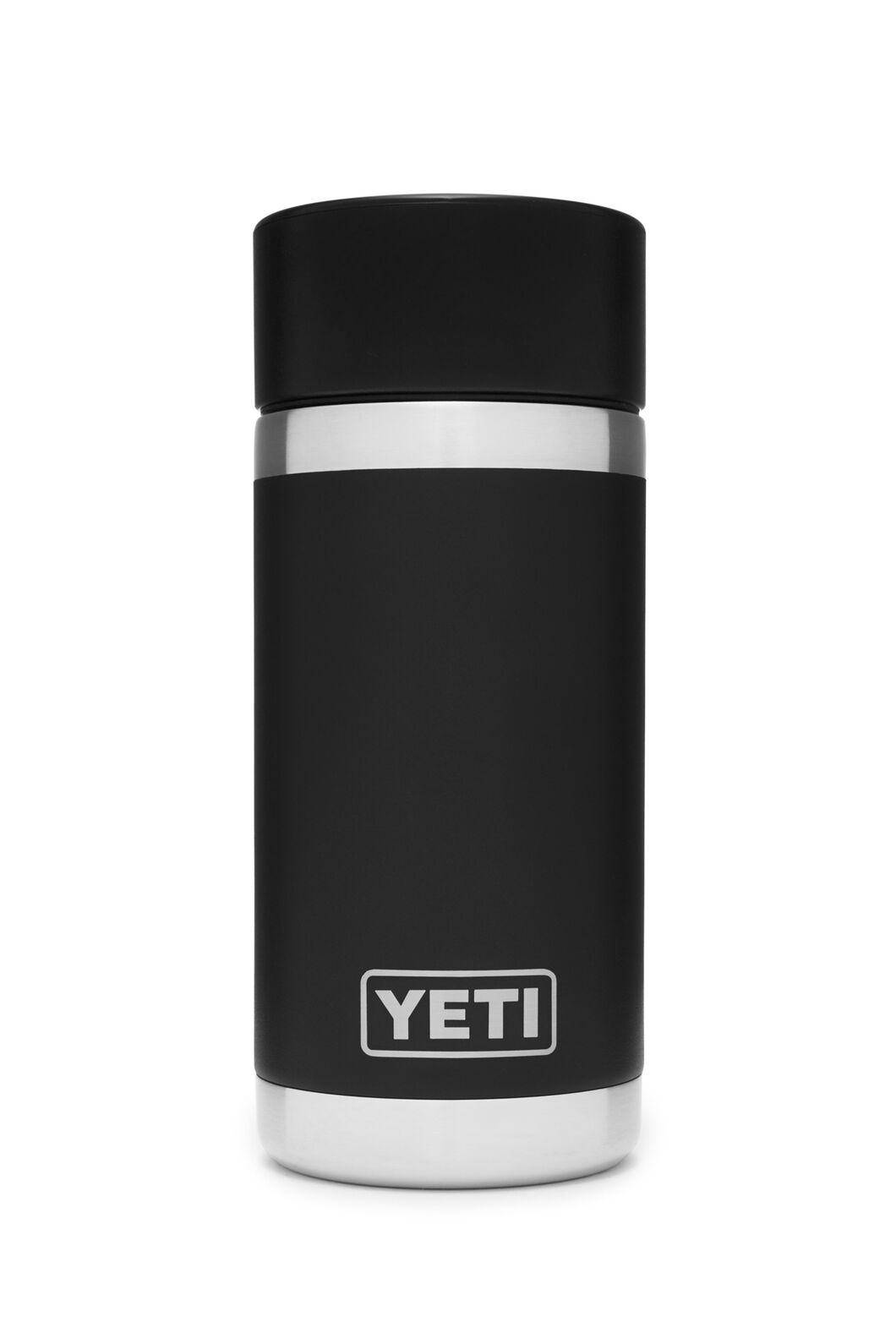 YETI® Rambler Bottle — 12oz, Black, hi-res